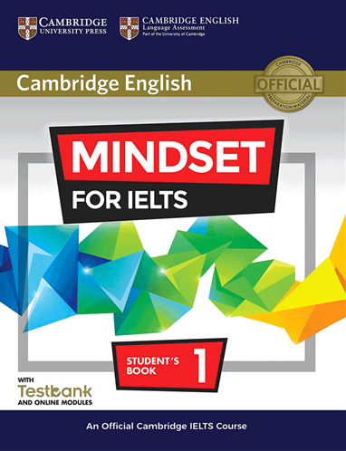 کتاب کمبریج انگلیش مایندست فور آیلتس Cambridge English Mindset For IELTS 1 Student Book+CD