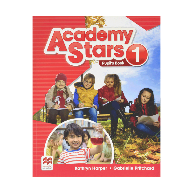 کتاب آکادمی استار Academy Stars 1 (Pupil's Book+W.B)+CD