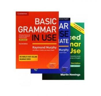 پک سه جلدی گرامر این یوز امریکن Grammar In Use American English