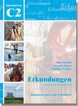 کتاب زبان Erkundungen C2 - Kurs- und Arbeitsbuch mit CD