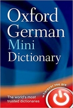 کتاب زبان Oxford German Mini Dictionary