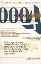 کتاب زبان Vocabulary 4000 : The 4000 Words Essential for an Educated Vocabulary