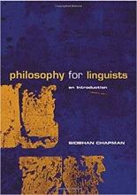 کتاب زبان Philosophy for Linguists: An Introduction