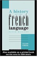 کتاب زبان A History of the French Language