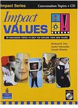 کتاب زبان  ایمپکت ولیوز Impact Values With CD