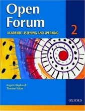 کتاب زبان Open Forum 2 Student Book with Test Booklet & CD