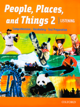 کتاب زبان People, Places, and Things Listening 2 with CD