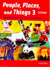 کتاب زبان People, Places, and Things Listening 3 with CD