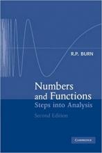 کتاب Numbers and Functions: Steps into Analysis 2nd Edition