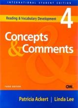 کتاب زبان Concepts & Comments 4 with CD