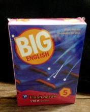 فلش کارت BIG English 5 Second edition FlashCards