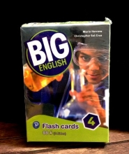 فلش کارت BIG English 4 Second edition FlashCards
