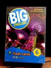 فلش کارت BIG English 6 Second edition FlashCards