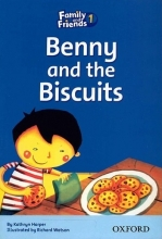 کتاب زبان Family and Friends Readers 1 Benny and the Biscuits