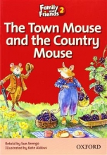 کتاب زبان Family and Friends Readers 2 The Town Mouse and the Country Mouse