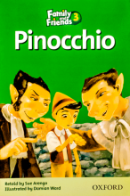 کتاب زبان Family and Friends Readers 3 Pinocchio