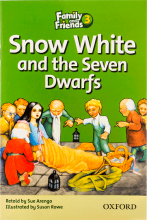 کتاب زبان Family and Friends Readers 3 Snow White and the seven Dwarfs