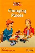 کتاب زبان Family and Friends Readers 4 Changing Places