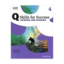 کتاب زبان Q Skills for Success 4 Listening and Speaking 2nd+CD