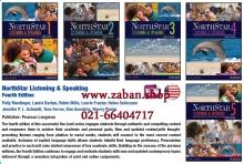 مجموعه 5 جلدی کتاب نورث استار لسینینگ اند اسپیکینگ NorthStar Listening & Speaking