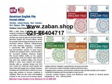 مجموعه 5 جلدی American English File رحلی ویرایش دوم