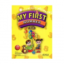 کتاب زبان My First Number Book+CD (Glossy Paper)