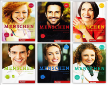پک 6 جلدی کتاب منشن Menschen
