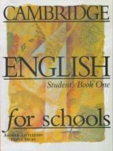 کتاب Cambridge English for Schools One