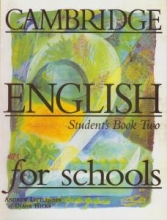کتاب Cambridge English for Schools Two