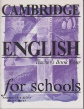کتاب معلم Cambridge English for Schools Teacher's Book Four