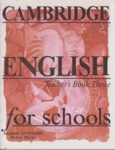 کتاب معلم Cambridge English for Schools Teacher's Book Three