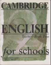 کتاب معلم Cambridge English for Schools Teacher's Book Two