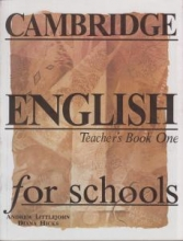 کتاب معلم Cambridge English for Schools Teacher's Book One