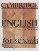 کتاب معلم Cambridge English for Schools Teacher's Book One