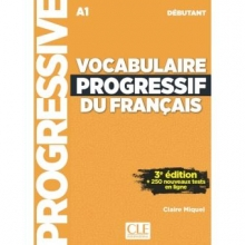 کتاب Vocabulaire Progressif Du Francais A1 - Debutant - 3rd +Corriges+CD
