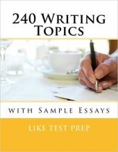 کتاب زبان 240Writing Topics: with Sample Essays