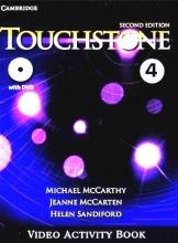 کتاب فيلم تاچ استون Touchstone 4 Video Activity Book 2nd Edition
