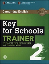 کتاب آزمون Key for Schools Trainer 2 Six Practice Tests