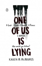 کتاب رمان انگلیسی One of Us is Lying