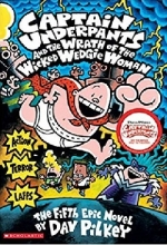 کتاب زبان Captain Underpants and the Wrath of the Wicked Wedgie Woman