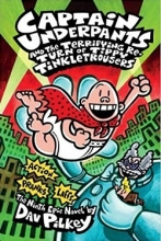 خرید کتاب زبان Captain Underpants and the Terrifying Return of Tippy Tinkletrousers