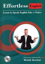 کتاب زبان Effortless English+2DVD