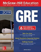 کتاب McGraw Hill Education GRE 2019 5th Edition