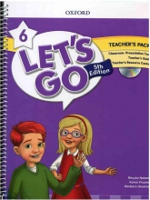 کتاب معلم Lets Go 5th 6 Teachers Pack + DVD