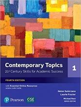 کتاب آموزش زبان Contemporary Topics 4th 1