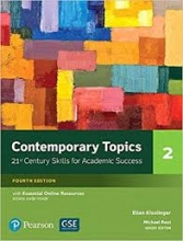 کتاب آموزش زبان Contemporary Topics 4th 2
