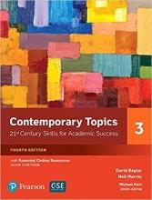 کتاب آموزش زبان Contemporary Topics 4th 3