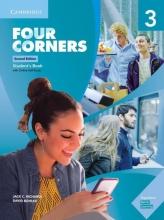 کتاب آموزشی فور کورنرز Four Corners 3 Second Edition