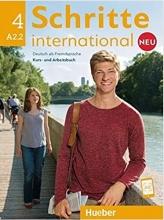 کتاب آلمانی شریته اینترنشنال جدید Schritte International Neu A2.2