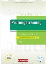 کتاب آلمانی (Prufungstraining Daf: Goethe-Zertifikat B2 (2019
